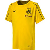 PUMA Youth Borussia Dortmund Yellow Training Top