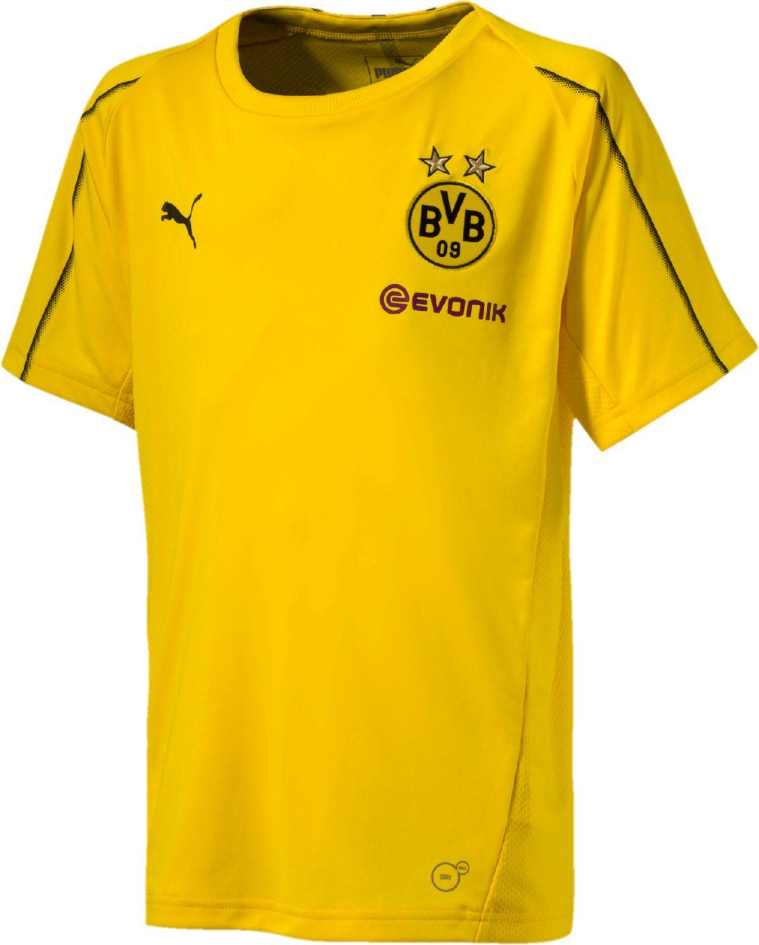 buy popular 2d3b0 83e26 PUMA Youth Borussia Dortmund Yellow Training Top