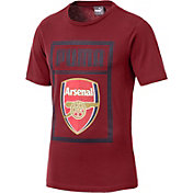 PUMA Men's Arsenal Red Crest T-Shirt