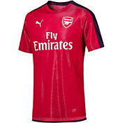 PUMA Men's Arsenal Red Prematch Top