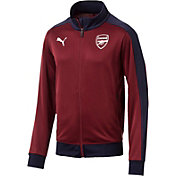 PUMA Men's Arsenal Red Track Jacket