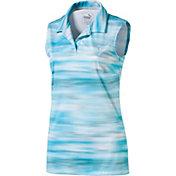 PUMA Women's Uncamo Sleeveless Golf Polo