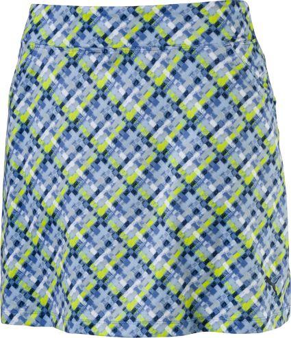 PUMA Plaid Knit Skort