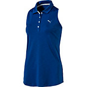 PUMA Women's Racerback Golf Polo