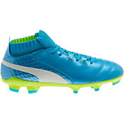 PUMA Kids' One 17.1 FG Soccer Cleats
