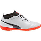 PUMA Kids' One 17.4 Indoor Soccer Shoes