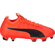 PUMA Kids' evoPOWER Vigor 3D 3 FG Soccer Cleats