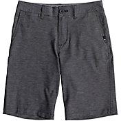 Quiksilver Boys' Union Heather Amphibian Hybrid Shorts