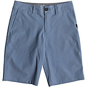 Quiksilver Boys' Union Heather Amphibian Hybrid Shorts