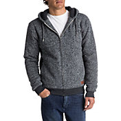 Quiksilver Men's Keller Sherpa Polar Fleece Full Zip Hoodie