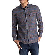 Quiksilver Men's River Back Flannel Long Sleeve Shirt