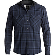Quiksilver Men's Magston Hooded Flannel Long Sleeve Shirt