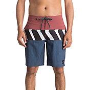 Quiksilver Men's Zig Zag Blocked Beach Shorts