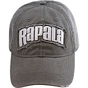 Rapala Men's Heavy Washed 3D Logo Cap