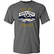 Rapala Men's Get Out and Fish Short Sleeve T-Shirt