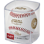 Rawlings 2017 Houston Astros World Series Champions Baseball w/ Display Case