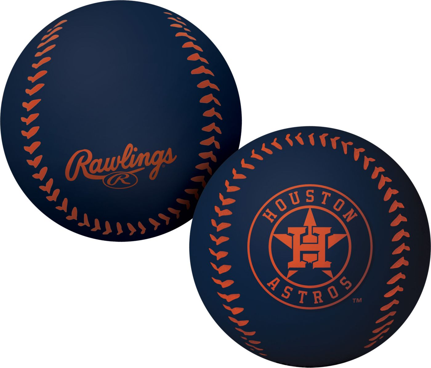 Rawlings Houston Astros Big Fly Bouncy Baseball