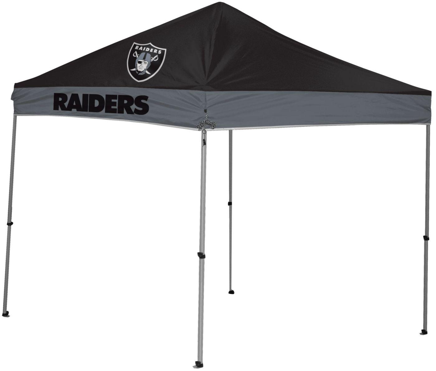 Rawlings Oakland Raiders 9' x 9' Sideline Canopy Tent