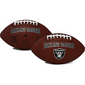 Rawlings Oakland Raiders Game Time Full-Size Football