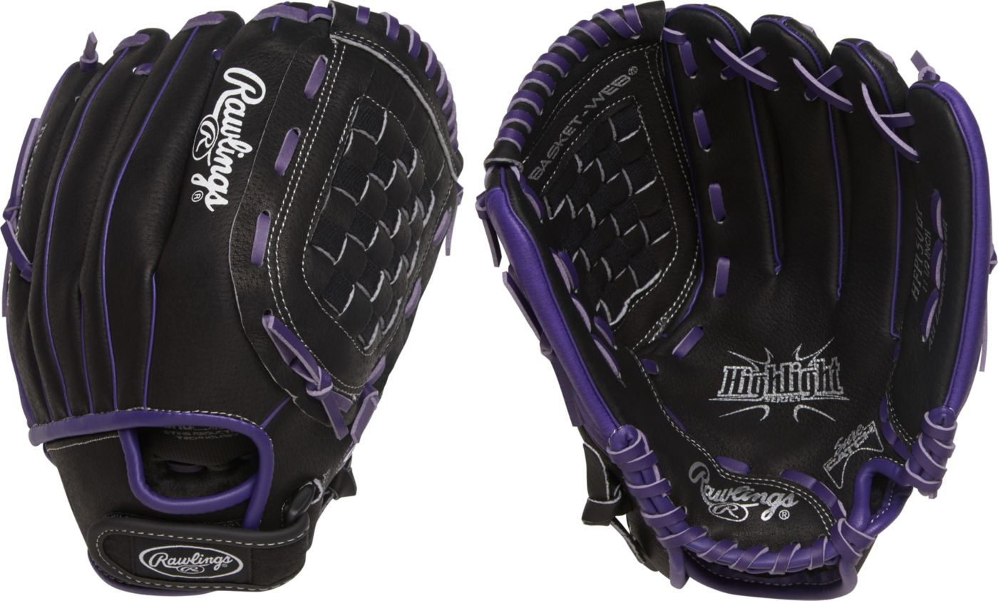 Rawlings 11'' Girls' Highlight Series Fastpitch Glove