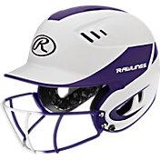 Rawlings Junior Velo R16 Fastpitch Helmet w/ Mask