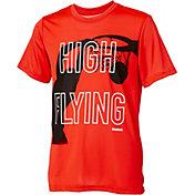 Reebok Boys' High Flying Graphic Basketball T-Shirt