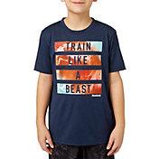 Reebok Boys' Heather Performance Graphic T-Shirt