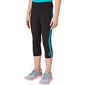 Reebok Girls' Cotton Graphic Capris