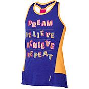 Reebok Girls' Elastic Back Dream Graphic Tank Top