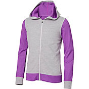 Reebok Girls' Mesh Back Jersey Jacket