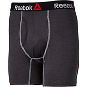 Reebok Men's Melange Performance 6'' Boxer Brief
