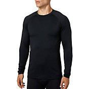 Reebok Men's Cold Weather Compression Crewneck Long Sleeve Shirt