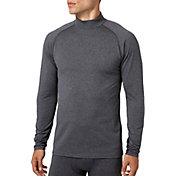 Reebok Men's Cold Weather Compression Heather Mockneck Long Sleeve Shirt