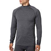 Reebok Men's Cold Weather Compression Heather Mockneck Long Sleeve Shirt