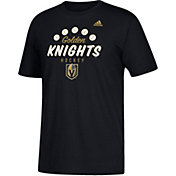 adidas Men's Vegas Golden Knights Sign Times Black T-Shirt
