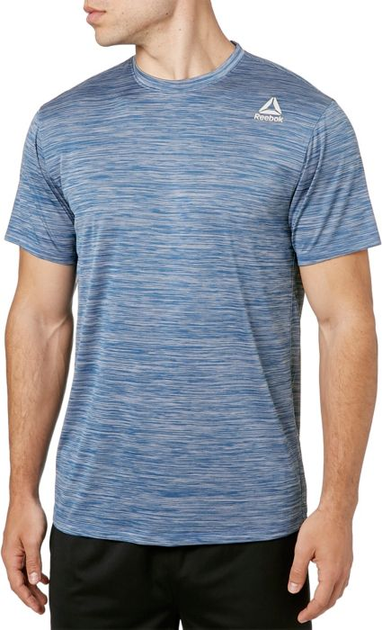 san francisco 78dad b29cb Reebok Mens Spacedye Performance T-Shirt  DICKS Sporting Goo
