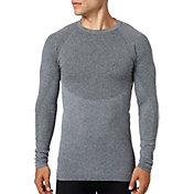Reebok Men's Seamless Crewneck Long Sleeve Shirt