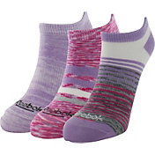 Reebok Stripe Mix No Show Socks 3 Pack