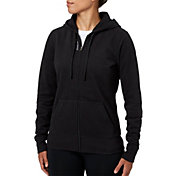 Reebok Women's Core Cotton Fleece Zip Up Hoodie