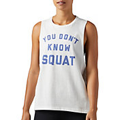 Reebok Women's Don't Know Squat Graphic Tank Top
