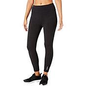Reebok Women's Stretch Cotton Side Pocket Ankle Pants