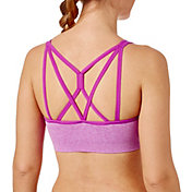 Reebok Women's Heather Crossback Sports Bra