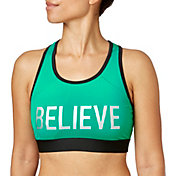 Reebok Women's Believe Graphic Pocket Sports Bra