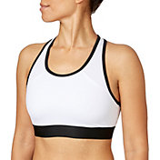 Reebok Women's Solid Pocket Sports Bra