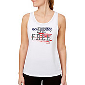 Reebok Women's Open Back Graphic Tank Top