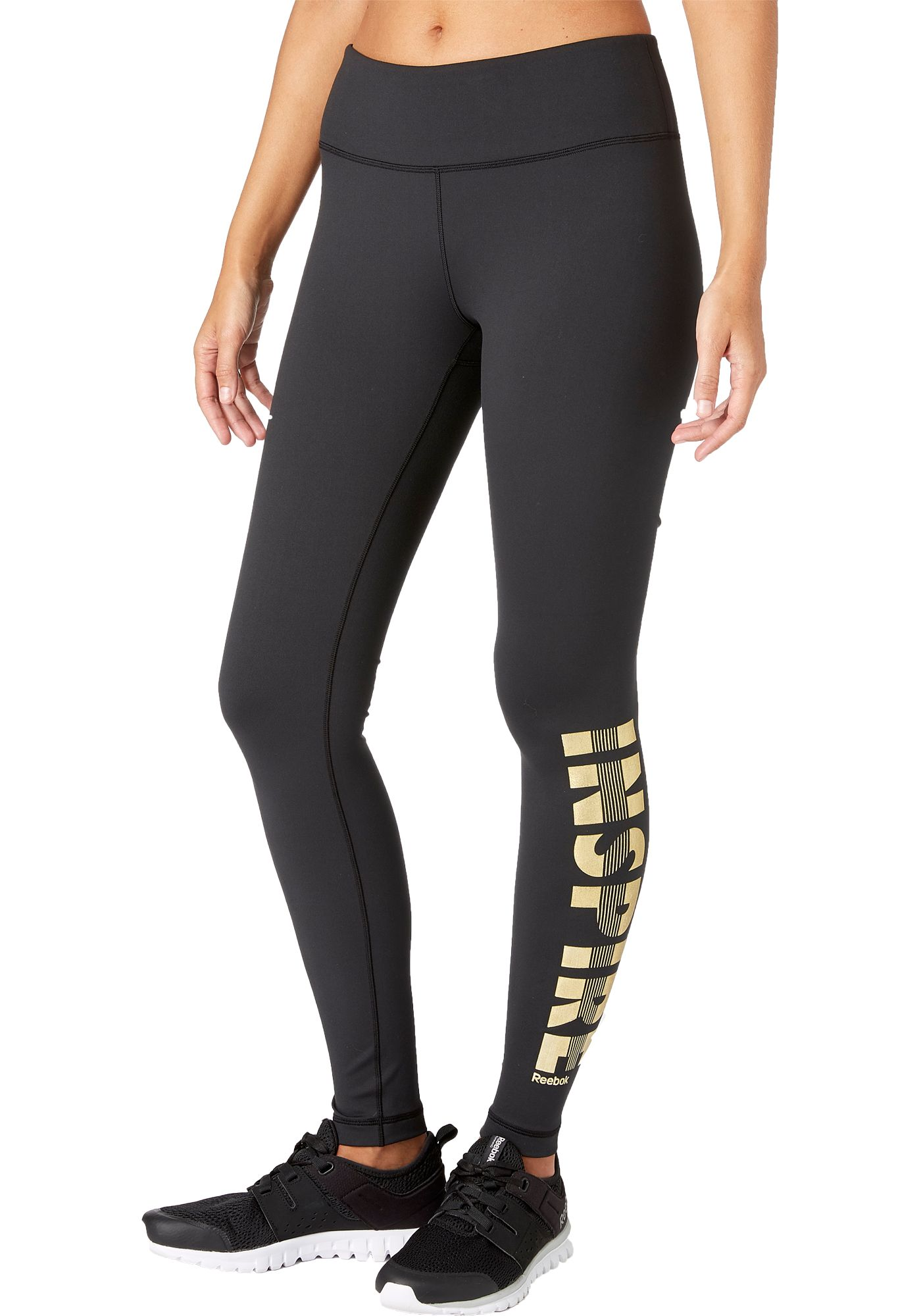 Reebok Women's Performance Inspire Graphic Tights