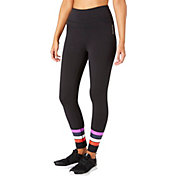 Reebok Women's Stripes Ankle Tights