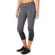 Reebok Women's Stretch Cotton Novelty Printed Capris