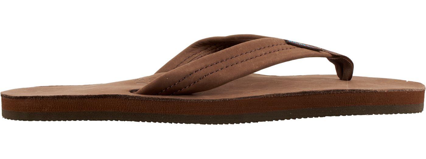 Rainbow Men's Leather 301 Flip Flops