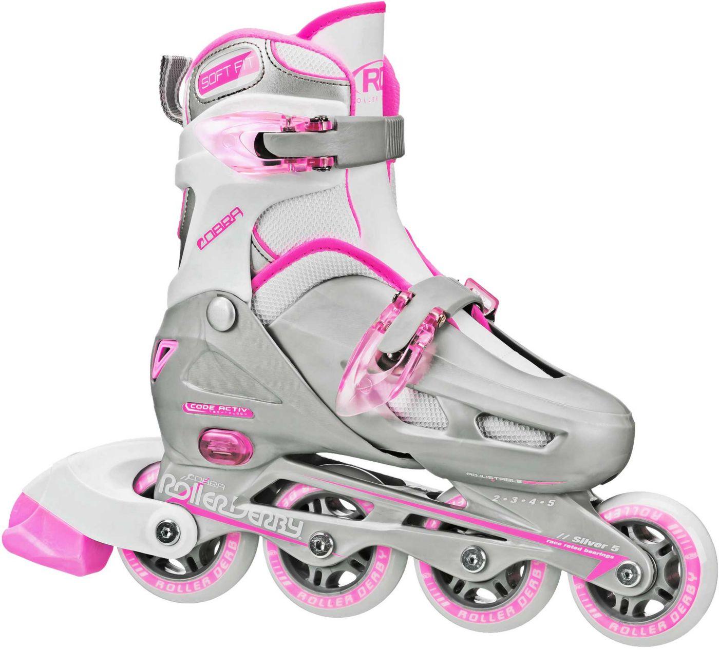 Roller Derby Girls' Cobra Adjustable Inline Skates